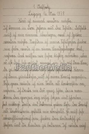 pagina del cursivo del viejo libro