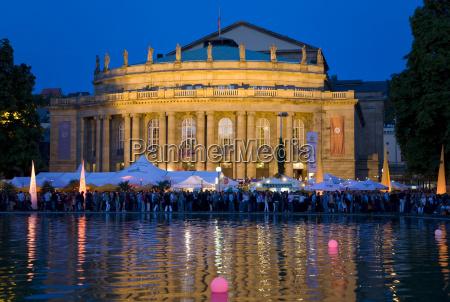 alemania baden wuerttemberg stuttgart opera house