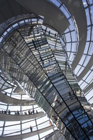alemania berlin edificio reichstag cupula vista