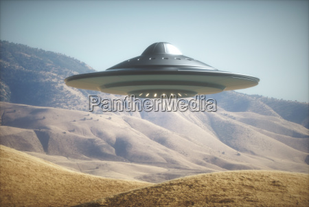 alien spaceship en la tierra