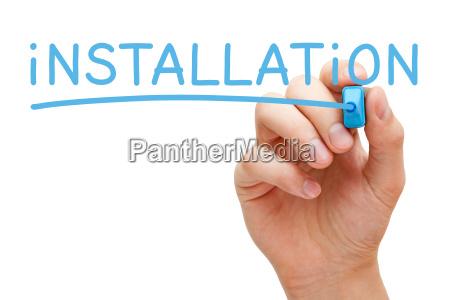 tecnologia software instalacion ajuste instalar teilzahlung