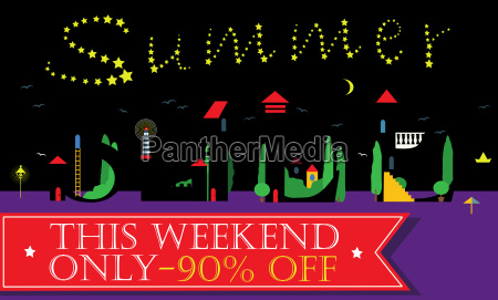 summer sale this weekend only night