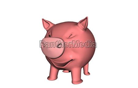 mascotas hucha hocico cerdito cerdo domestico
