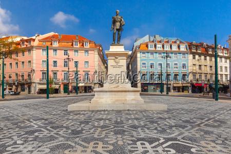 duque da terceira square in lisbon