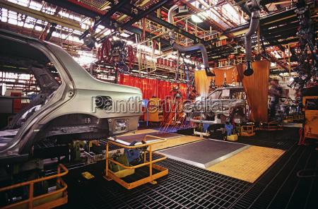 planta de fabricacion de automoviles