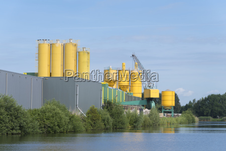 large cement factory
