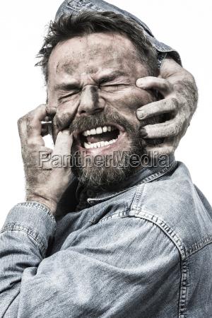 personas gente hombre retrato panico fuerte