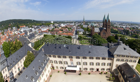 view to bad homburg with skyline