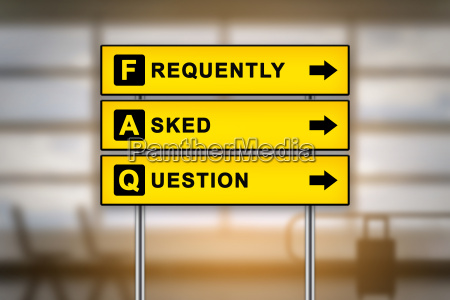 faq or frequently asked questions on