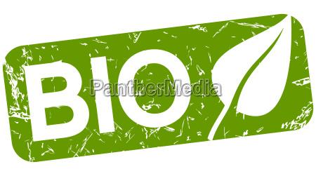 senyal comida servicio bio opcional verde
