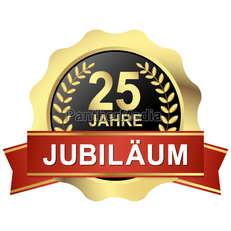 button 25 years of jubilee