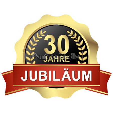 button 30 years of jubilee