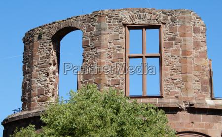 ventana europa ruina estilo de construccion