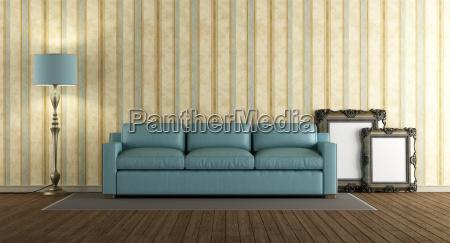 muebles pared sofa partido se monticulo