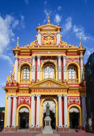 san francisco church salta argentina