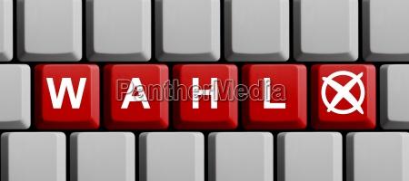 teclado eleccion en linea