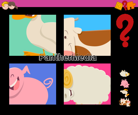 guess farm animals activity game