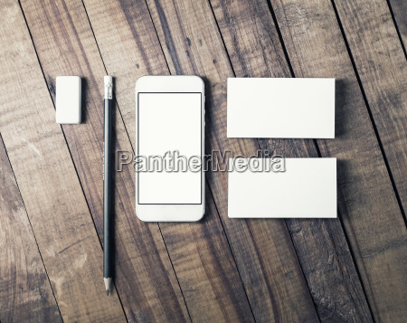 telefono presentacion movil instrumentos objetos madera
