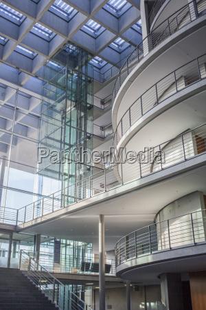 sala vidrio vaso oficina sala de