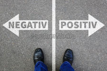 negativamente positivo mal mal concepto de