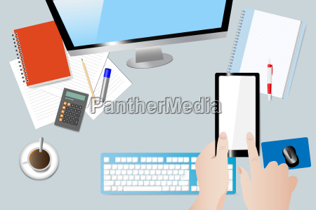 business workplace concept