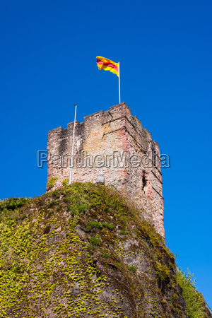 view of the castle tower of
