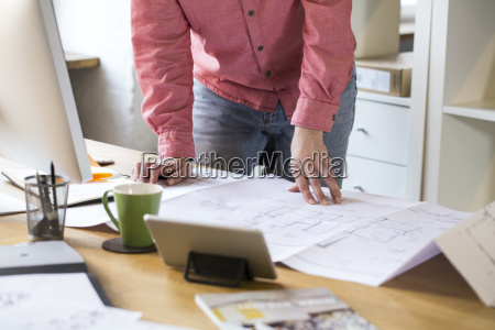 close up of man working on