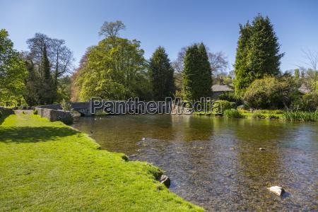 the river wye and sheepwash bridge