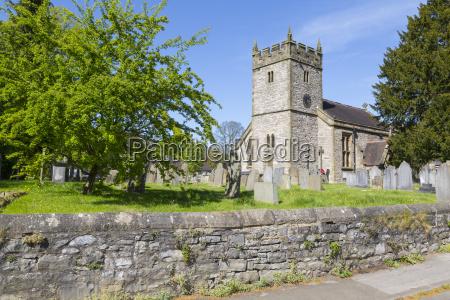 the parish church in ashford in