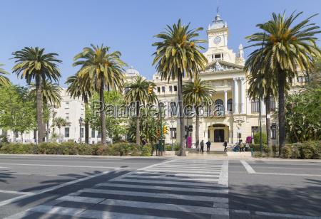 view of town hall palace ayuntamiento