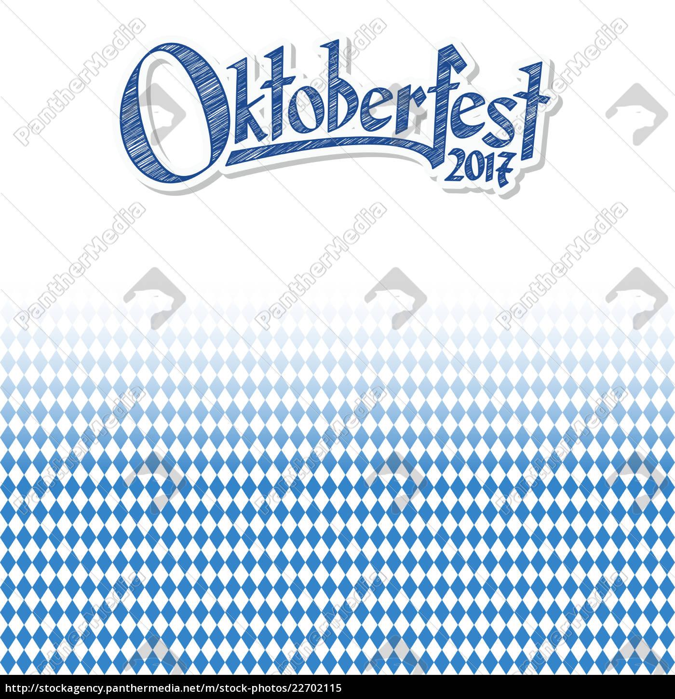 fondo, de, oktoberfest, con, patrón, a - 22702115