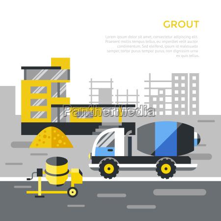 digital vector black construction building tracks