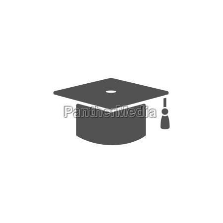 educacion sombrero tapa capo clasificacion icono