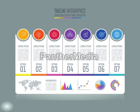 creative concept for infographic timeline infographic
