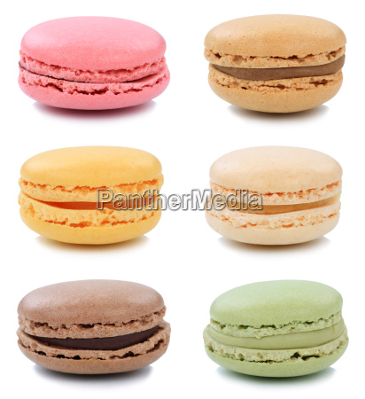 macarons macaroons biscuits collection dessert dessert