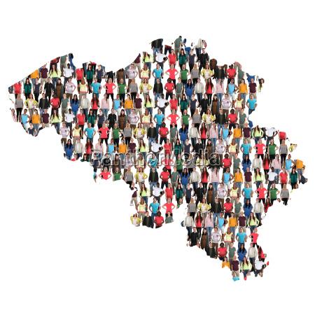 belgium map people people group people