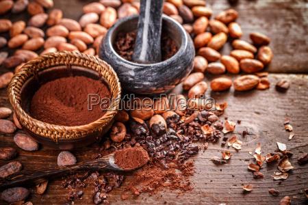 bodegones del cacao molido