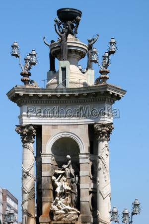 azul torre ciudad monumento piedra nube