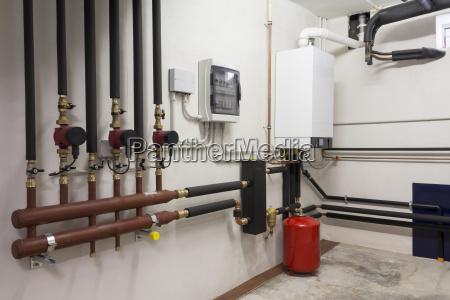 gas calefaccion calentamiento hidraulico condensacion steamboiler