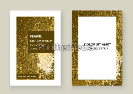 salpicadura de pintura de oro salpicadura