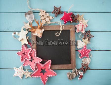 decoracion rustica en navidad