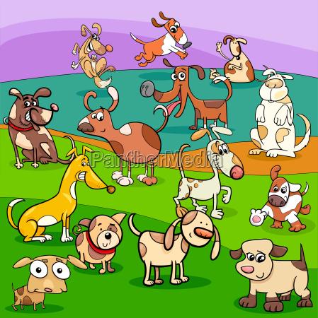 perros manchados personajes de dibujos animados