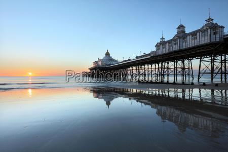 eastbourne pier at sunrise eastbourne east