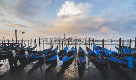 gondolas venice unesco world heritage site