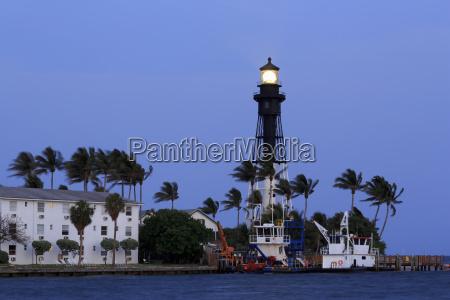 hillsboro lighthouse hillsboro beach florida united