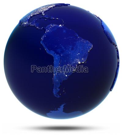 la ciudad de sudamerica ilumina la