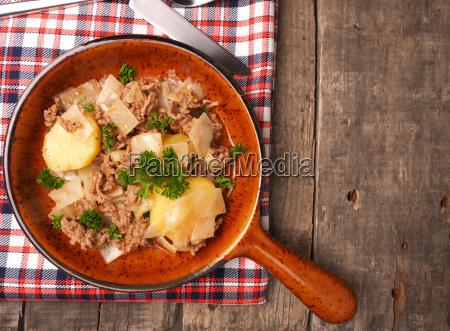 comida pimienta verde caliente cocina los