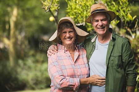 retrato de la pareja de ancianos