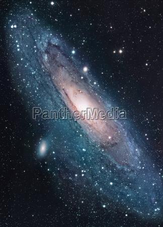 la galaxia andromeda es una galaxia