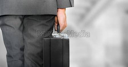 patas de la persona de negocios